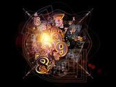 Nebulae Particles — Stock Photo