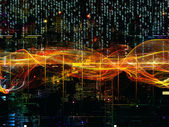 Advance of Digital Network — Stock Photo