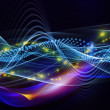 Overlapping sine waves — Stock Photo #13559735
