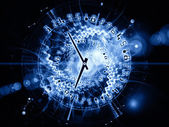 Fractions of time — Stock Photo
