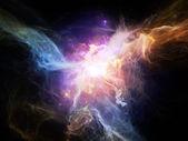Glow of Nebulae — Stock Photo