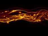 音楽の波 — ストック写真