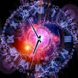 Stock Photo: Clock abstraction