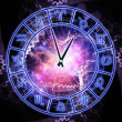 Zodiac clock — Stock Photo #13720323