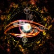 The Eye of Zodiac — Stock Photo
