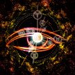The Eye of Zodiac — Stock Photo #13723117