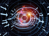 Abstract technology eye — Stock Photo