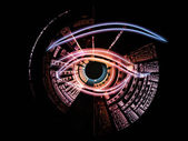 Computer eye — Stock Photo