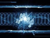 Geometría del sonido — Foto de Stock