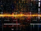 范式的数字网络 — 图库照片