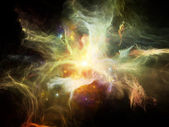 Lights of Nebulae — Stock Photo