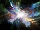 Unfolding of Nebulae — Stock Photo