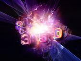Metaforische digitale technologie — Stockfoto