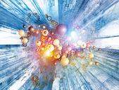 Energy of Digital Technology — Stock Photo