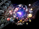 Magic of Chemical Elements — Stock Photo