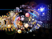 Diversity of Chemical Elements — Stock Photo