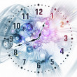 Stock Photo: Loop of time