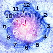 Clock dynamic - Stock Photo