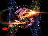 Earth Metaphor — Stock Photo