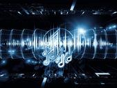 Musical energy — Stock Photo