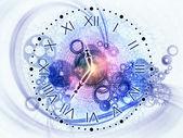 Tijd internals — Stockfoto