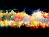 Abstract colorful clouds — Stock Photo
