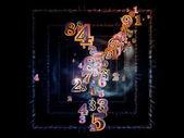 Number Nebulae — Stock Photo