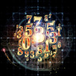 Realms of Numbers — Stock Photo