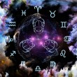 Foto Stock: Astrology Abstraction