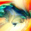Fractal Paint Acceleration — ストック写真
