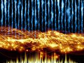 Visualisation de la musique — Photo