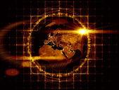 Earth Computing — Stock Photo