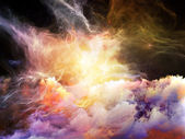 Energy of Nebulae — Stock Photo