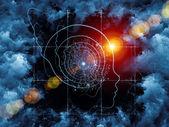Unfolding of Intelligent Life — Stock Photo