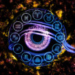 The Eye of Zodiac — Stock Photo #14362141