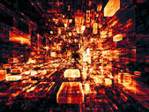 Accidental Virtual Space — Stock Photo