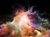 Nebulosas virtuais — Foto Stock