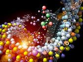Wizja pierwiastków chemicznych — Zdjęcie stockowe