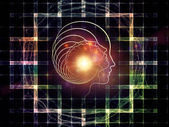 Paths of Intelligent Design — Stock Photo