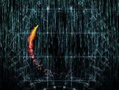 Digital Processing — Stock Photo