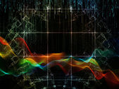 Numeric Streams — Stock Photo