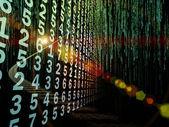 数値情報ストリーム — ストック写真