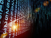 Más allá de flujo de información — Foto de Stock