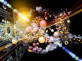 Diversiteit van chemische elementen — Stockfoto