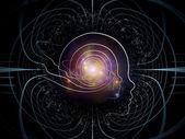 Intelligent Life Background — Stock Photo