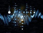 Física virtual — Fotografia Stock