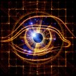 Eye of artificial intelligence — Stock Photo #15742745