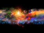 Renkler oluşturma — Stok fotoğraf
