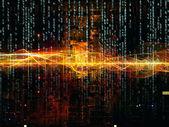 Complex Digital Network — Stock Photo