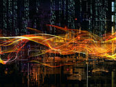 Paradigm of Digital Network — Stock Photo